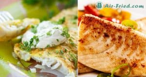 Air Fryer Tilapia Fillets