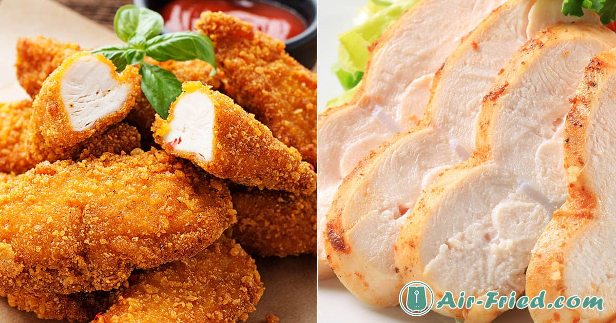 Delicious Air Fryer Boneless Chicken Breast Basic Crispy