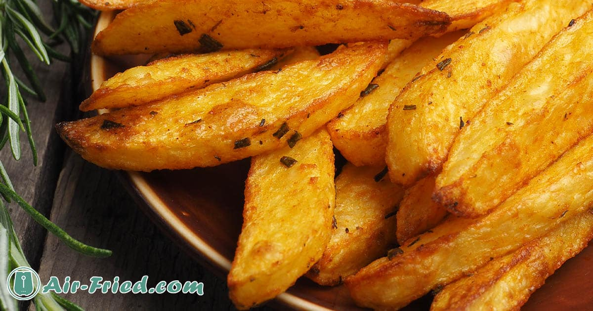 Air Fryer Homemade French Fries Recipe