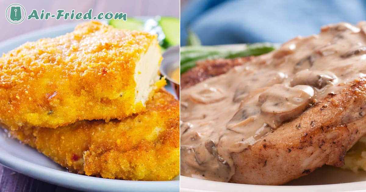 Air Fryer Pork Chops Two Ways – Marinated and Breaded Recipe