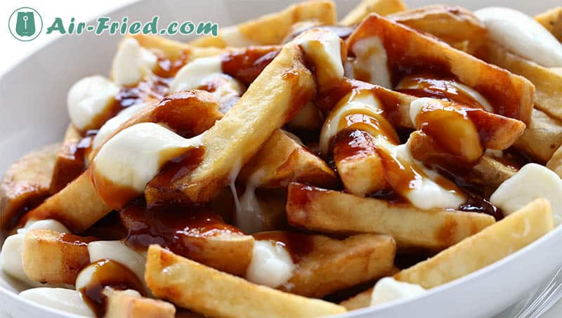 Poutine air fryer recipe