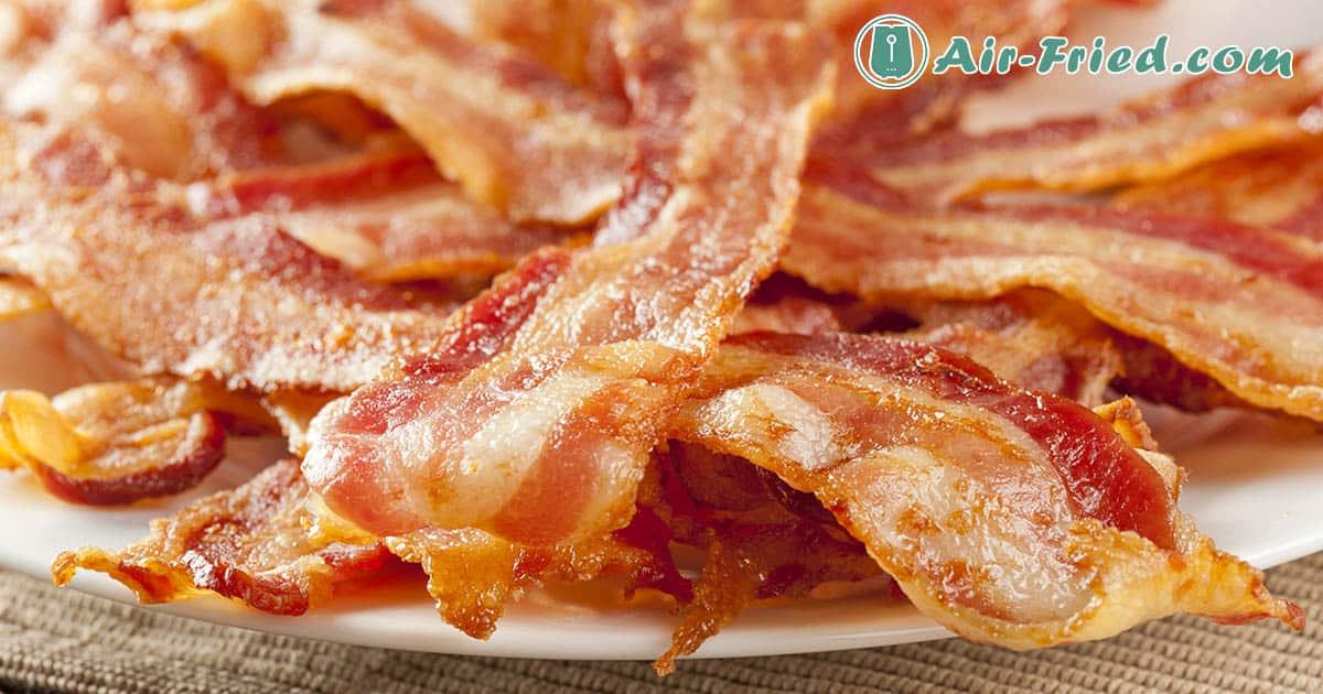 Air Fryer Bacon Three Ways Recipe