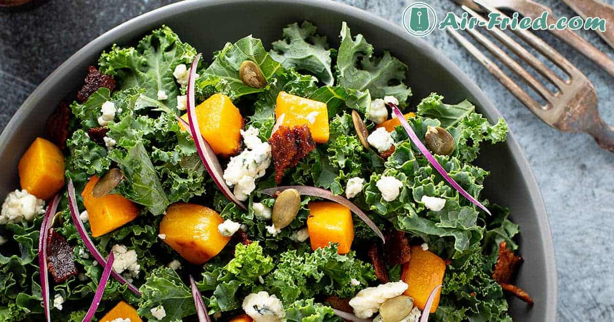Baby Greens with Goat Cheese salad