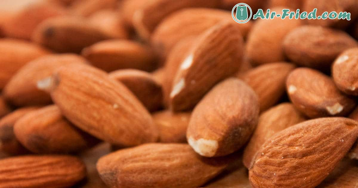 Tamari Almonds in air fryer