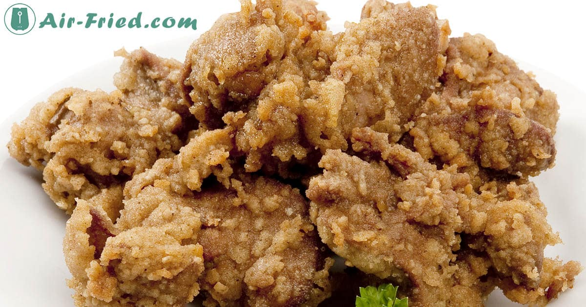 Air Fryer Chicken Livers with a Crunchy Coating Recipe
