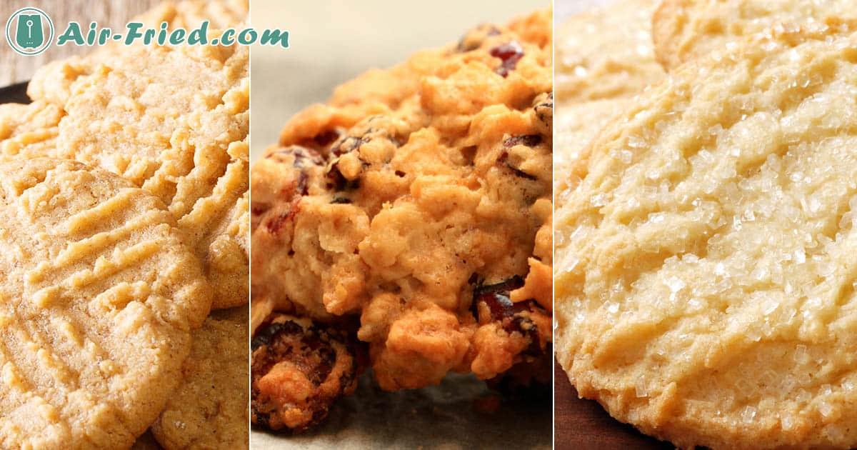 Best Air Fryer Cookie Recipes: Sugar, Oatmeal Raisin, and Peanut Butter Recipe