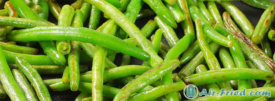 Simple air fryer green beans recipe