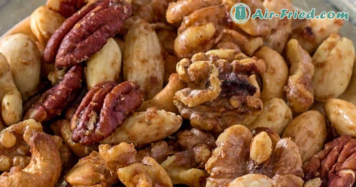 Roasted Nuts: Maple Glazed Mixed Nuts, Curried Pecans and Tamari Almonds Recipe