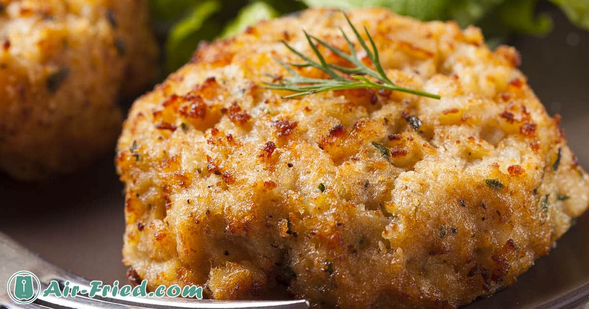 Classic & Gluten-Free Crab Cakes in an Air Fryer Recipe
