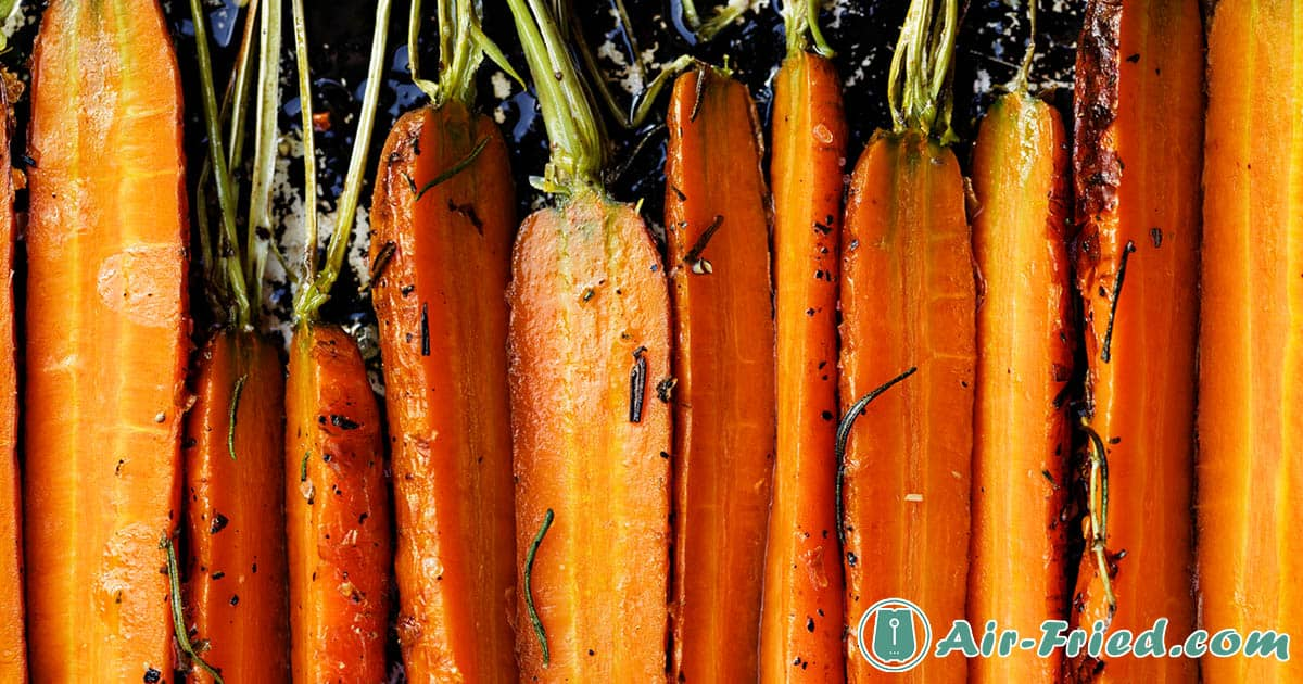 Air Fryer Roasted Carrots 3 Ways: Quick and Easy, Honey Glazed, and Ginger Dill Recipe