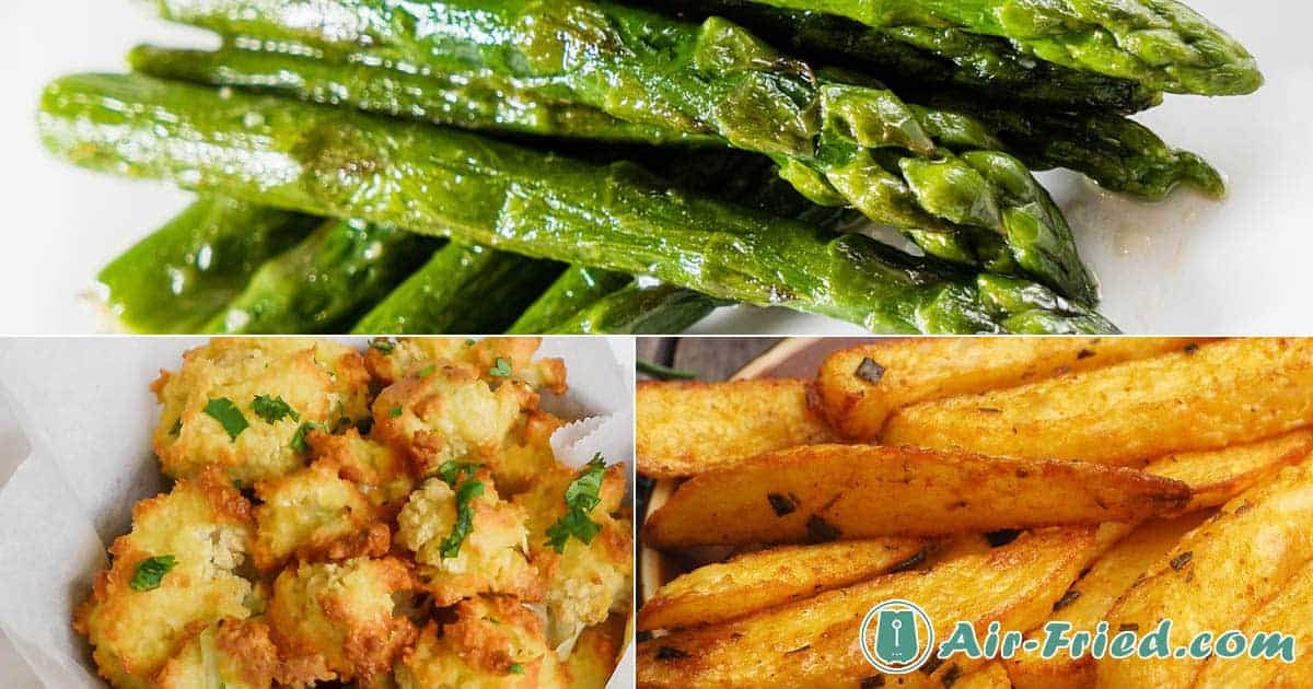Air Fryer Vegetable & Fruit Recipes