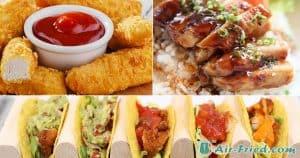 Chicken tenders in air fryer three ways