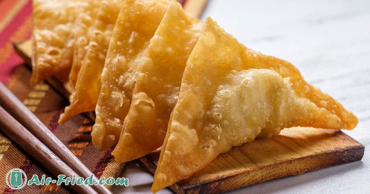Air Fryer Crab Rangoon with Duck Sauce Recipe