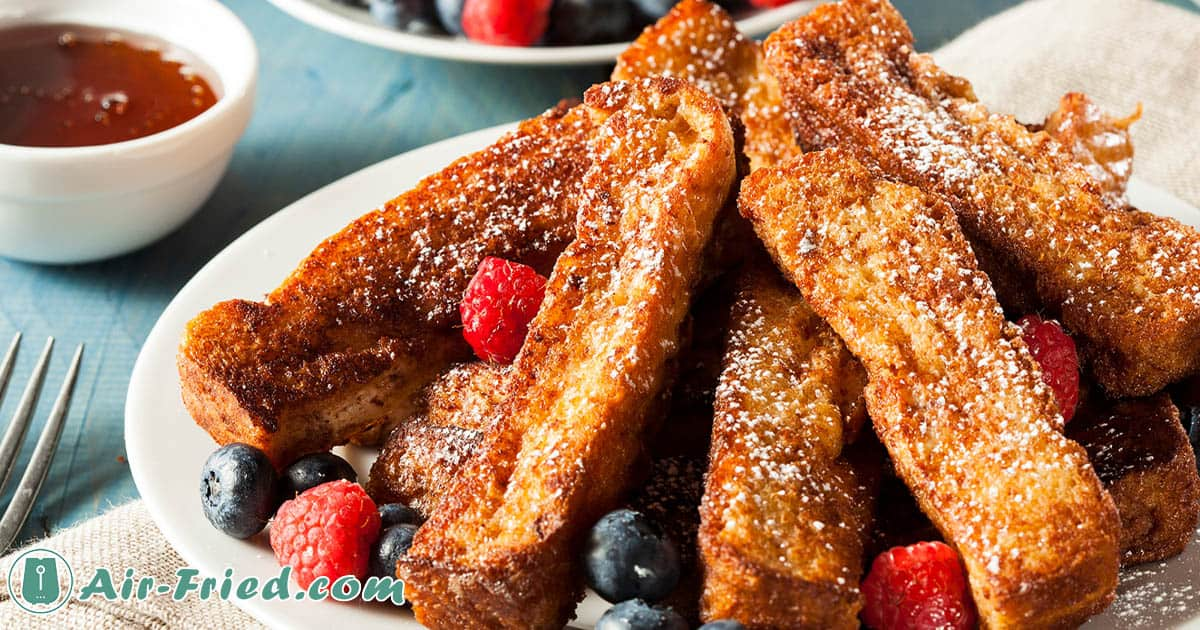 Air Fryer French Toast Sticks: Homemade and Frozen Recipe