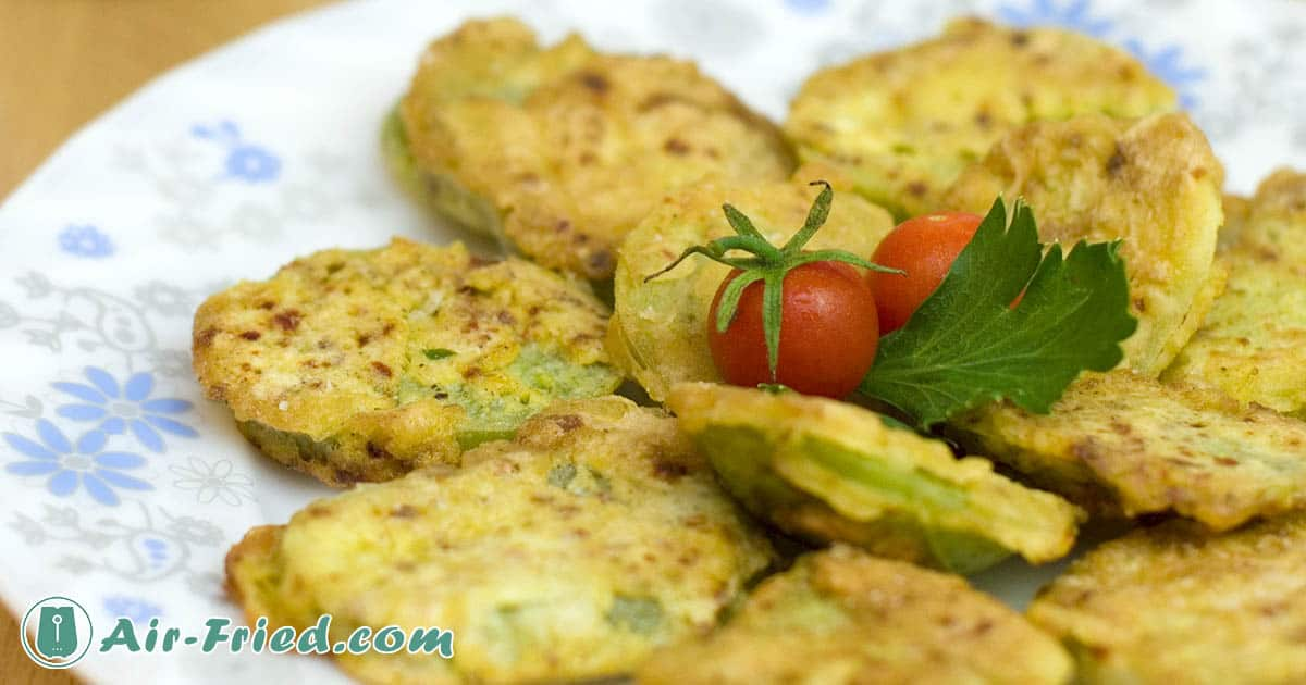 Air Fryer Crunchy Fried Green Tomatoes Recipe