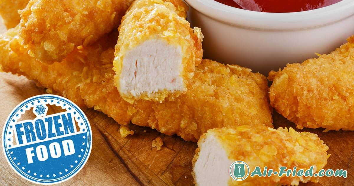 Frozen Chicken Strips in an Air Fryer (Breaded or No Breading) Recipe