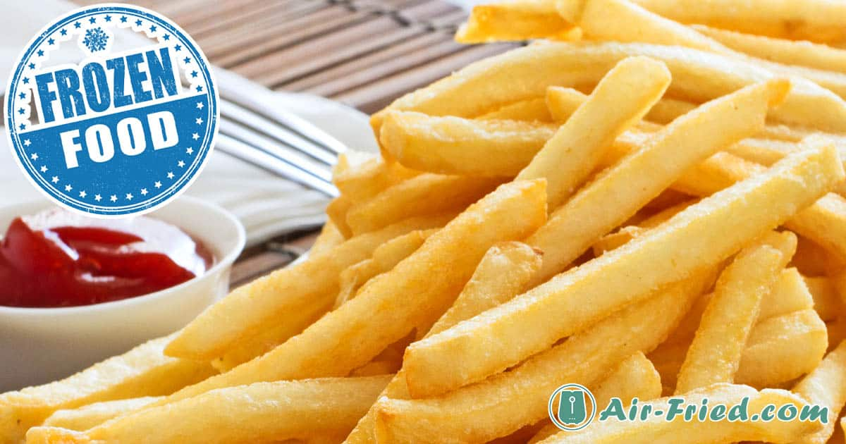 Easy Frozen French Fries in an Air Fryer Recipe