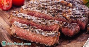 Air Fried ribeye steak