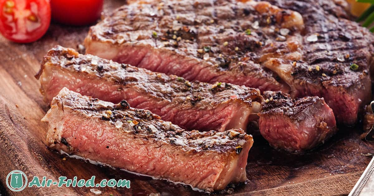 Juicy Ribeye Steaks with 2 Sauces Recipe