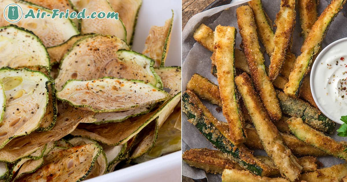 Air Fryer Zucchini Recipes: Chips, Fries, and Roasted Recipe