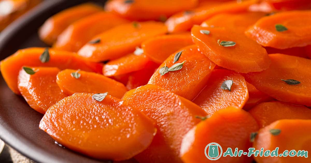 honey glazed carrots in air fryer